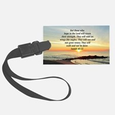 ISAIAH 40:31 Luggage Tag