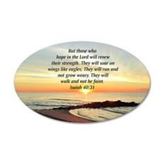 ISAIAH 40:31 Wall Decal