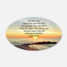 ISAIAH 40:31 Wall Decal
