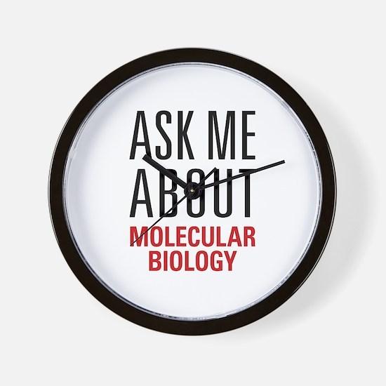 Molecular Biology Wall Clock