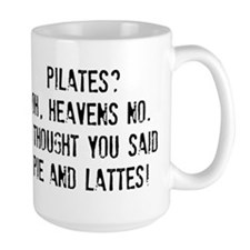 Pie and lattes please! Mugs