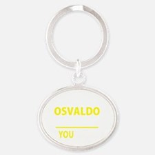 Cute Osvaldo Oval Keychain