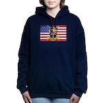 U.S.A. Rhodesia Flag Women's Hooded Sweatshirt