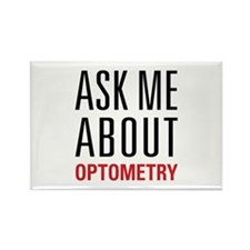 Optometry - Ask Me Abo Rectangle Magnet (100 pack)