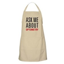 Optometry - Ask Me About - Apron