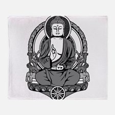 Siddhartha Buddha Throw Blanket
