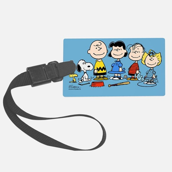 The Peanuts Gang Luggage Tag