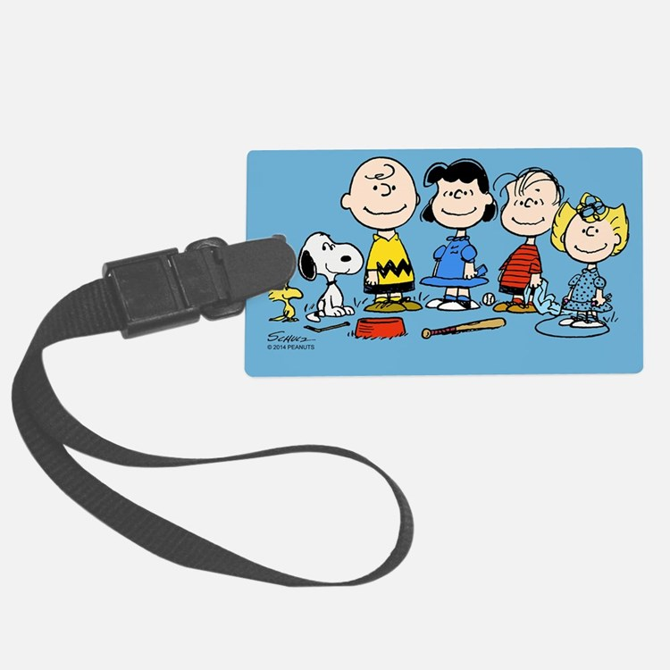The Peanuts Gang Luggage Tag