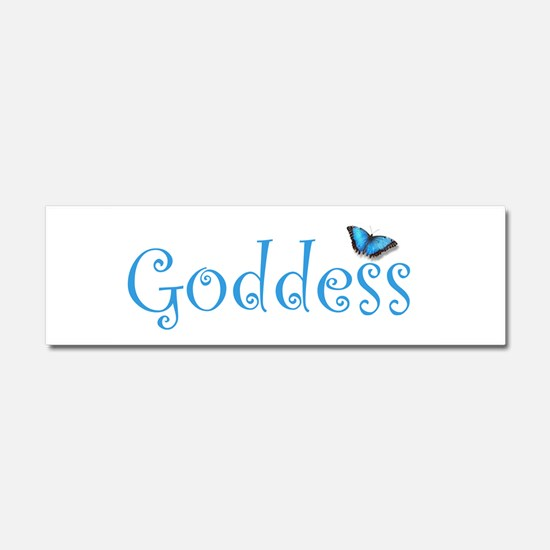 Cute Goddess Car Magnet 10 x 3