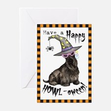 scottie-howl-card Greeting Cards