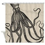 Octopus Shower Curtains