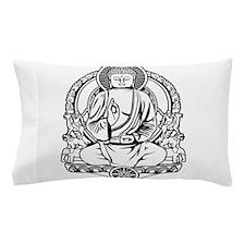 Gautama Buddha Lines Pillow Case