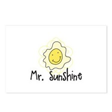Mr Sunshine Postcards (Package of 8)