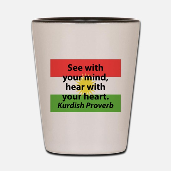 See With Your Mind Shot Glass