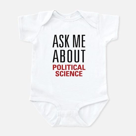 Political Science Infant Bodysuit