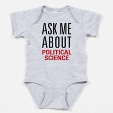 Political Science Baby Bodysuit