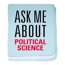 Political Science baby blanket