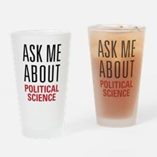 Political Science Drinking Glass