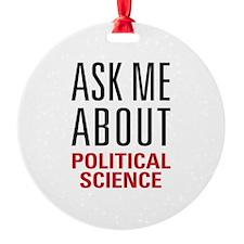 Political Science Ornament