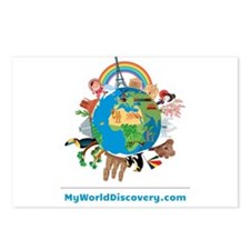 MyWorldDiscovery.com Postcards (Package of 8)