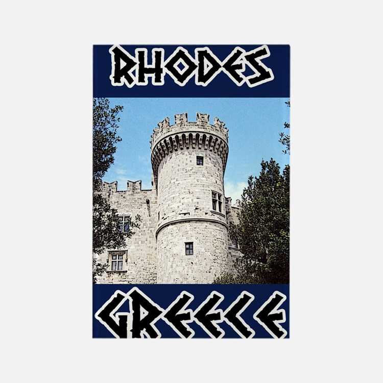 Rhodes Rectangle Magnet