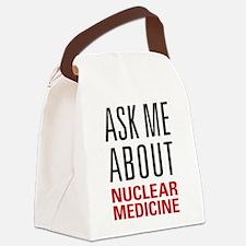 Nuclear Medicine Canvas Lunch Bag