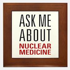Nuclear Medicine Framed Tile