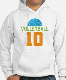 Volleyball player number 10 Hoodie