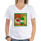 Better with age Womens V-Neck T-shirts