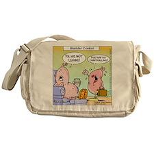 Bladder Control Nut Messenger Bag