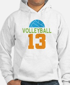 Volleyball player number 13 Hoodie