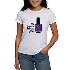 Purple Glitter T-Shirt