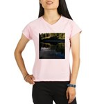 Eel River Reflection Scene Performance Dry T-Shirt
