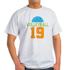 Volleyball player number 19 T-Shirt