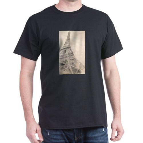 Eiffel Tower Sketch T-Shirt