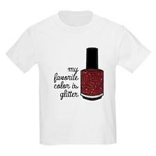 Red Glitter T-Shirt