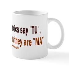 Poor Aggie Dyslexics v4 Mug