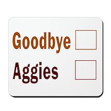 Aggies scoreboard Mousepad