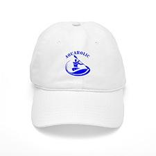 Aquaholic Kayak Guy Baseball Cap