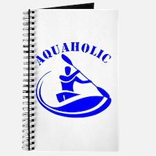 Aquaholic Kayak Guy Journal