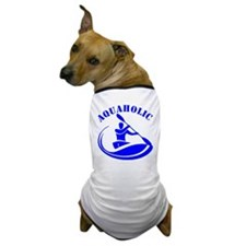 Aquaholic Kayak Guy Dog T-Shirt