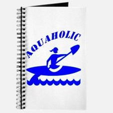 Aquaholic Kayak Girl Journal