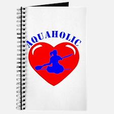 Love Kayaking Girl Journal