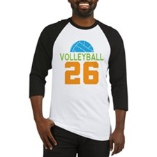 Volleyball player number 26 Baseball Jersey