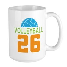 Volleyball player number 26 Mug