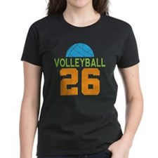 Volleyball player number 26 Tee