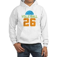 Volleyball player number 26 Hoodie