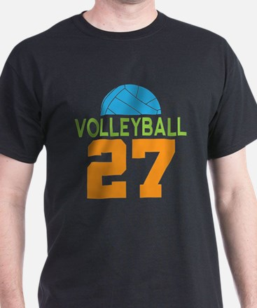 Volleyball player number 27 T-Shirt