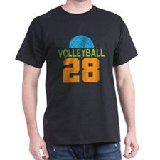 Volleyball player number 28 T-Shirt