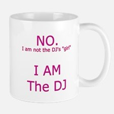 DJ Girl Mugs